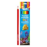 Pastelky JUNIOR Ocean World trojhranné 6 ks