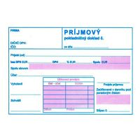 Příjmový pokl.. doklad s DPH A6, samopr. (171)