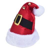 Čapica - Santa Claus s opaskom 40 cm, 1ks