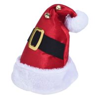Čepice - Santa Claus s páskem 40 cm, 1ks