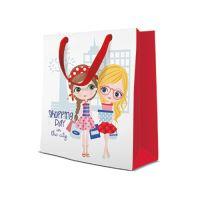 Dárková taška PAW Shopping Day, 20x25x10 cm