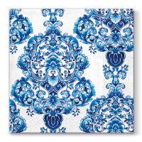 Ubrousky PAW L 33x33cm Porcelain Ornament