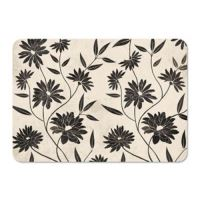 Prostírání PAW Flowery Decor Black maxi, 4 ks