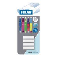 Náhradní gumy MILAN do mechanické tužky, sada 4 ks