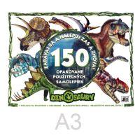 Samolepkový album JM - Dinosaury