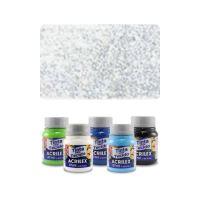 ACR Farba na textil 37ml, glitter crystal
