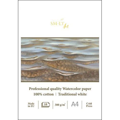 SMLT Malování na akvarel - profesionální A4, 300g, 10 l