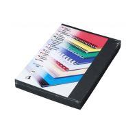 Kartonové desky DELTA A4 černé