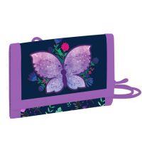 Dětská textilní peněženka Butterfly