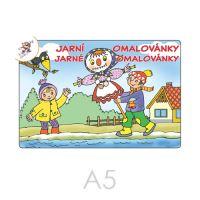 Omalovánka A5 Jarné omalovánky