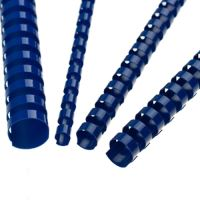 Hřebeny plastové 32 mm modré