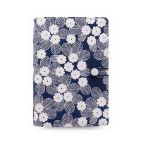 Diář Filofax Impressions Flowers - modro bílý, osobní
