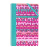 Zápisník čverečkovaný MILAN 21x14 cm circus růžový