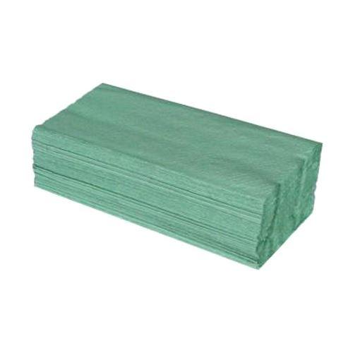Papírové ručníky ZZ, 25x23 cm, zelené (5000 ks)