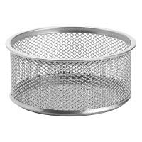 Drátěný pohár na spony, stříbrný 89x33 mm