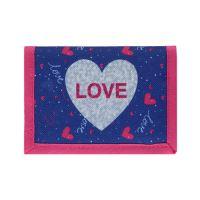 Dětská peněženka Love Heart
