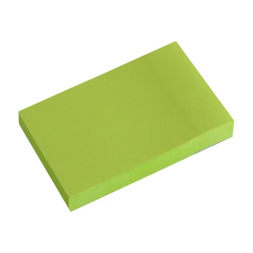 Blok lep. NEON zelený 51 x 76 mm