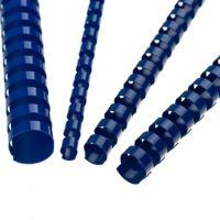 Hřebeny plastové 19 mm modré
