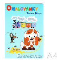Omalovánka  A4 Akim - Z. Milera