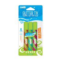 Lepidlo glitter 3 ks mix barevné