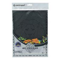 Antistresové omalovánky CENTROPEN 9997 Animals černé