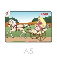 Omalovánka A5 Koně