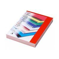 Kartonové desky CHROMOLUX A4 červené