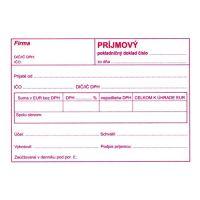 Příjmový pokl.doklad pro podvojné. účet. A6 (894)