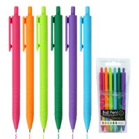 Pero kuličkové Semi-Gel 1.0 mm, sada 6 ks