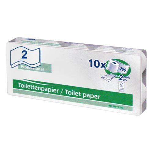Toaletny papier Harmony, 2-vrstvý, 10 ks/ bal