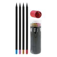 Ceruzka grafitová s diamantom, mix/4 farieb