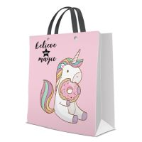 Dárková taška PAW Premium Magic Unicorn, large - 26,5x13x33,5 cm