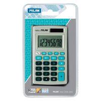 Kalkulačka MILAN kapesní 8-místní 150208 modrá