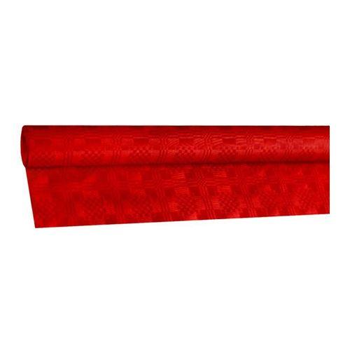 Obrus papírový rolovaný 8 x 1,20 m, červený