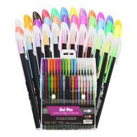 Pero gelové - sada 36 ks (3x12 ks - Neon, Glitter, Pastel)