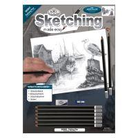 RB Kreativní sada na skicování - Rybářské molo