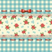 Ubrousky PAW L 33x33cm From my Country House Blue