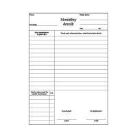 Montážní deník A4 samoprepis (304)
