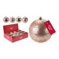 Vánoční koule - PP 100 mm / remember, mix / 1ks