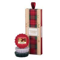 Vánoční set Yankee Candle - 3x vonný vosk 22g, mix vůně