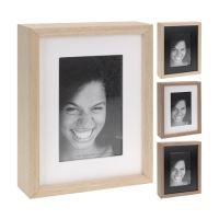 Fotorámeček 10x15 / 15x20 cm - dřevěný, 1ks
