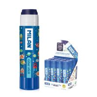 "Lepicí tyčinka MILAN Glue Stick ""Super Heroes Space"" 21 g, blue"