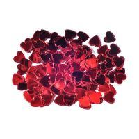 Dekorace srdce červené 15 mm/14 g