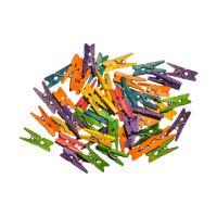 Dekorační kolíčky mix barev, 40 ks