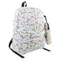 Dětský batoh + pouzdro na pera, design 1