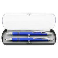 Sada HZ 9086 B+P, Guľôčkové pero + Mechanická ceruzka, modrá