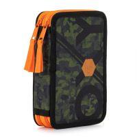 Penál 2-patrový / bez výbavy OXY Army Orange