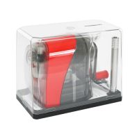 Ořezávátko stolní - mechanické, červené