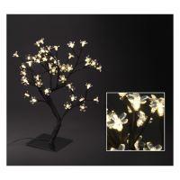 Stromek - svítící 48 LED teplá bílá, 45 cm
