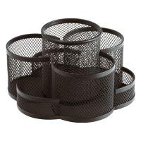 Drôtený stojan / organizér 7-dielny, čierny
